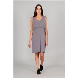 INDYGENA Kuiva Dress for women - purple heather (grey)