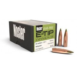 Nosler E-Tip .308 180 Gr