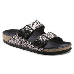 Birkenstock GIZEH sandale POUR FEMME - Noir pierre Metalliques