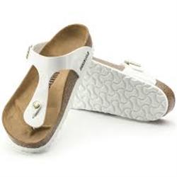 Birkenstock GIZEH sandale POUR FEMME - STONE (gris)