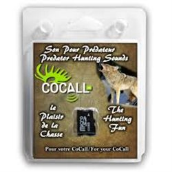 COCALL sound card - predator hunting sounds