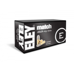 Eley Match Biathlon 22 lr