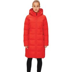 LOLË Manteau d`hiver KATIE L édition pour femme (en rouge ou noir)
