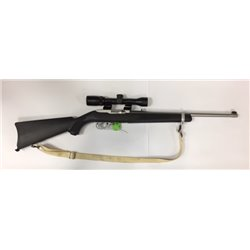Used Ruger 10/22 Stainless 22 lr with scope