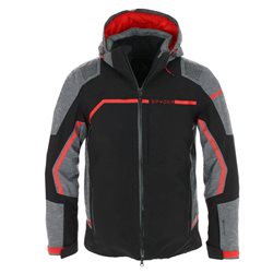 SPYDER LEADER GTX SKI JACKET FOR MEN 2020 (BLACK EBONY)