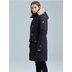 Kanuk Mont Royal Winter coat (Blue-black) for women