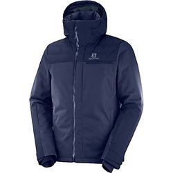 Salomon Men`s Brilliant Insulated Ski Jacket