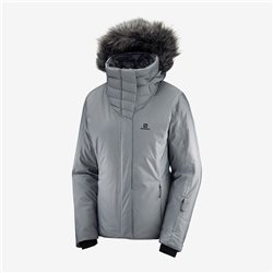 Salomon women's ICEHEARTY jacket - quiet shade