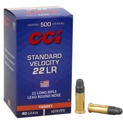 CCI Standard Velocity 22lr...