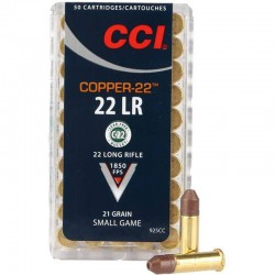 CCI Copper 22lr 21 gr CHP
