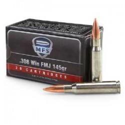 MFS 308 Win 145 gr FMJ