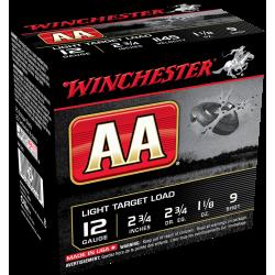 Winchester AA 12 Ga 1 1/8'' 9