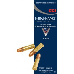CCI Mini Mag Solid 22 lr 40...