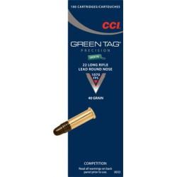 CCI Green Tag 22lr 40 GR LRN