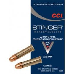 CCI Stingner 22lr 32 Gr HP