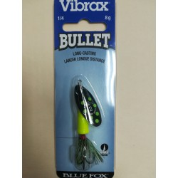 Blue Fox Vibrax Bullet 1/4 OZ