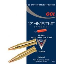 CCI TNT 17 HMR 17 gr JHP