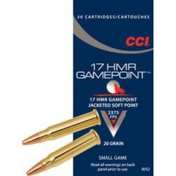 CCI Gamepoint 17 HMR 20 gr