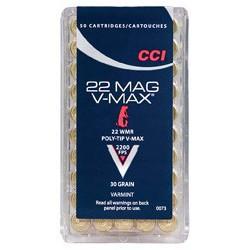 CCI 22 Win Mag 30 Gr V-Max