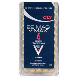 CCI 22 Win Mag 30gr V-Max