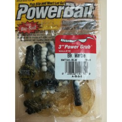 BERKLEY 3IN POWER GRUB BLK...