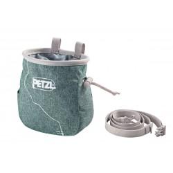 PETZL- SAKA  CHALK BAG GREEN