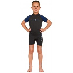 NEOSPORT 2MM KIDS BACK ZIP...