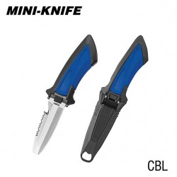 TUSA MINI KNIFE BLUNT TIP BLUE