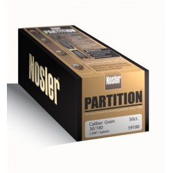Nosler Partition .308 180gr...
