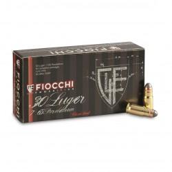 Fiocchi 30 Luger 93 gr FMJ