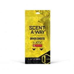 SCENT-A-WAY DRYER SHEETS