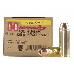 Hornady 480 Ruger 325gr XTP...