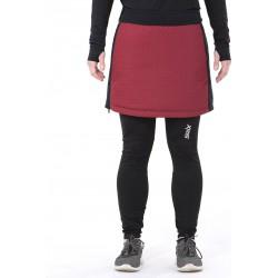 SWIX-MENALI WOMEN ULTRA QUILTED SKIRT RHUBARB RED Swix Bottoms