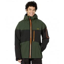 Oakley- Cedar Ridge 3.0 BZI Jacket - Black/Green OAKLEY Clothing