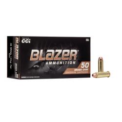 CCI Blazer Brass 38 Special 125 gr FMJ CCI Munitions
