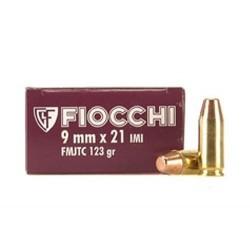 Fiocchi 9mmx21 123 gr FMJ