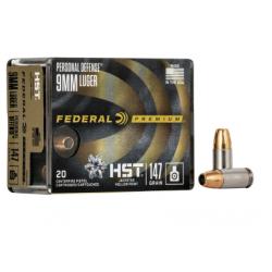 Federal HST 9mmx19 124gr