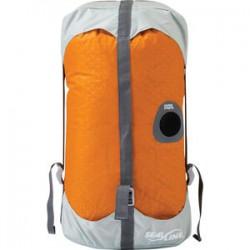 Seal Line Blocker Compression Dry Sac Orange 10L Seal Line Dry Bags