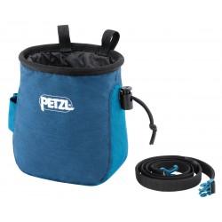 Petzl saka chalk bag Blue Petzl Chalk / Chalk Bag