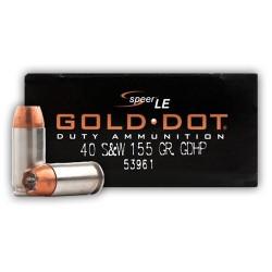 Speer Gold Dot 40 S&W 155...