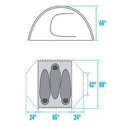 TNF - Stormbreak 3 tent...