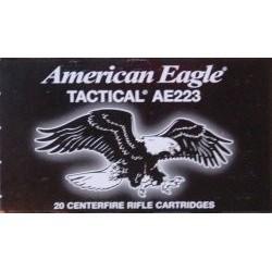 Federal 5.56mmx45mm 55gr FMJ