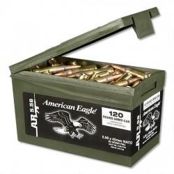 Federal 5.56x45mm 55gr FMJ...