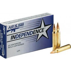 Independence 5.56x45mm 55gr...