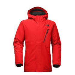 the north face DESCENDENT JACKET CENTENNIAL RED