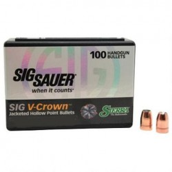 Sierra V-Crown .355 124 gr JHP