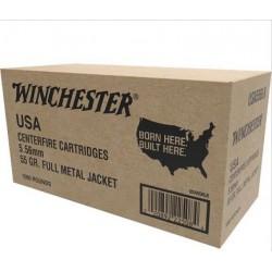 Winchester USA 5.56mm Nato 55 gr FMJ 1000 bulk