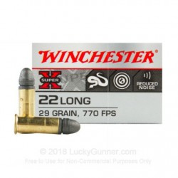 Winchester 22 Long CB Match...