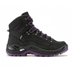 Lowa Renegade GTX Mid Women's hiking boot (Black/Blackberry)