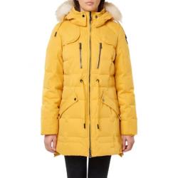 PAJAR QUEENS Coat with Fur collar for women